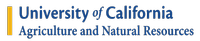 Unvirsity of Californi Agriculture & Natural Resources Logo